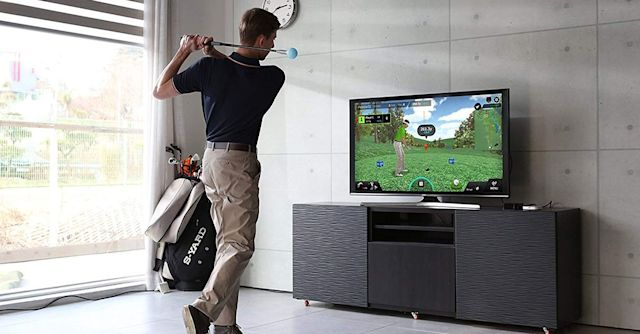 This Golf Simulator Lets You Work On Your Swing From Home - SurgeZirc NG