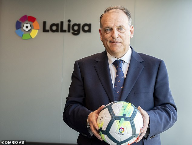 La Liga President Javier Tebas Hopes The League Resumes June 12 - SurgeZirc NG