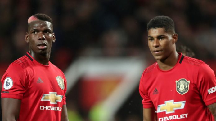 Manchester United duo, Paul Pogba, and Marcus Rashford will be available for selection if the Premier League season is given a go-ahead to resume next month.