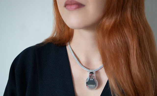 NASA Pulse Necklace Will Remind You Not To Touch Your Face - SurgeZirc NG