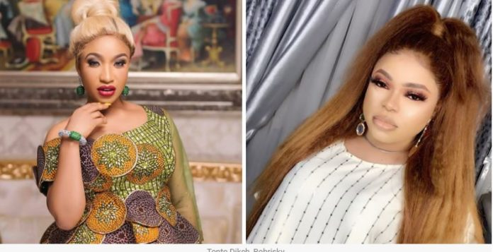 Bobriskky Assures Tonto Dikeh That He'll Never Leave Her