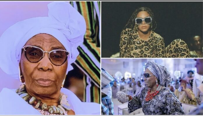 69-Year-Old Grandma Appears In Beyonce's 'Black Is King' Hitting Fame-SurgeZirc NG