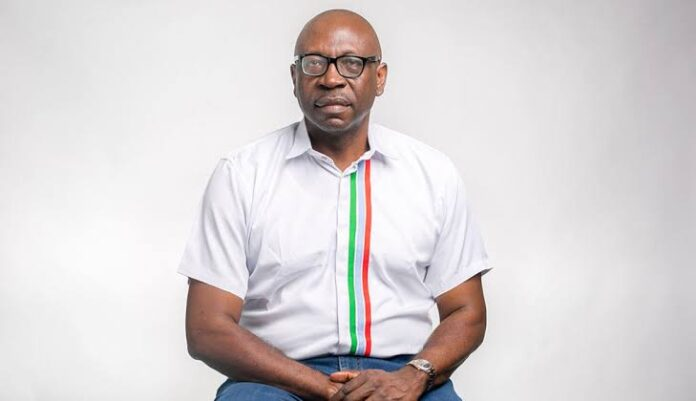 "Ize-Iyamu: ""If There's No Security, Development Is Impossible""-SurgeZirc ng"