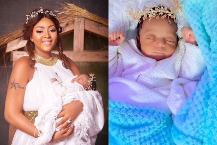 Regina Daniels Serves Us With Her Son's Pic And Dam He Looks Like....-SurgeZirc NG