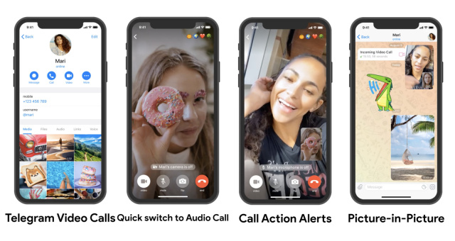 Telegram's One-On-One Video Calls Are Live On Android And iOS - SurgeZirc NG