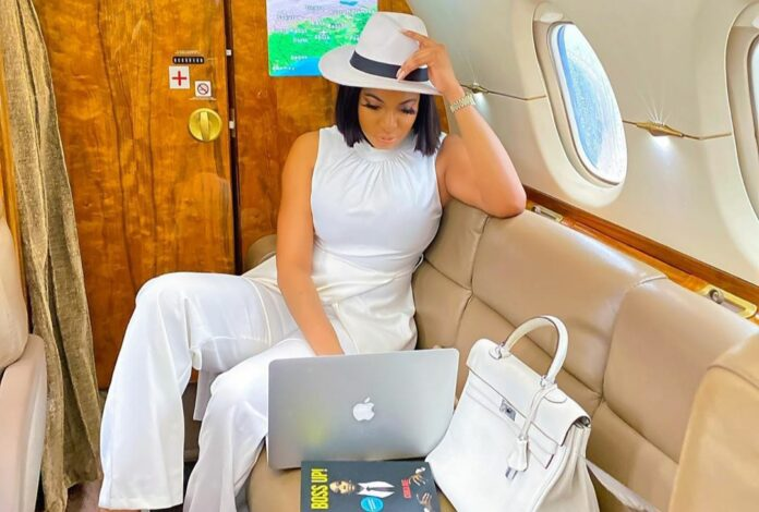 """"""" Peter Okoye reacts to Nollywood Actress Chika Ike's Photos She Shared"""