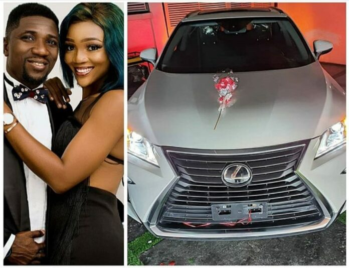 Comedian Ogusbaba Surprises Wife With A Brand New Lexus Gift