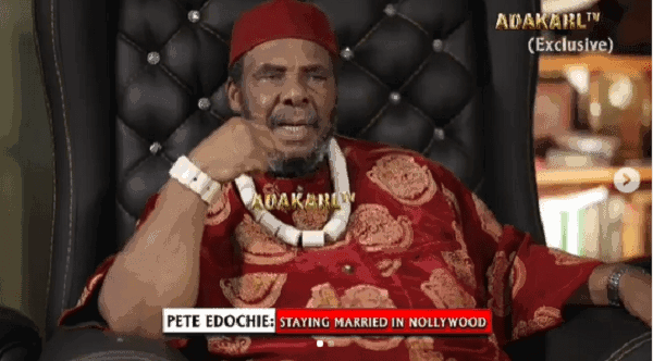 Pete Edochie advises Nollywood actresses to breastfeed their children