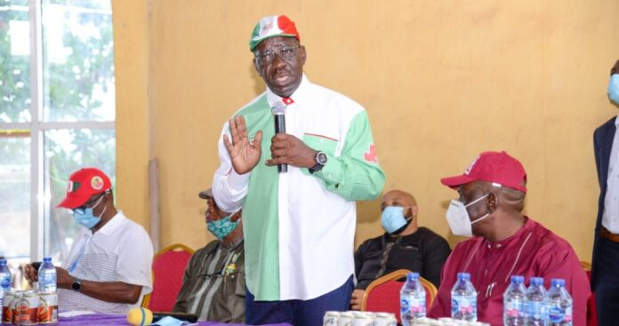 """Governor Obaseki: """"There Is No Need For Violence""""-SurgeZirc ng"""