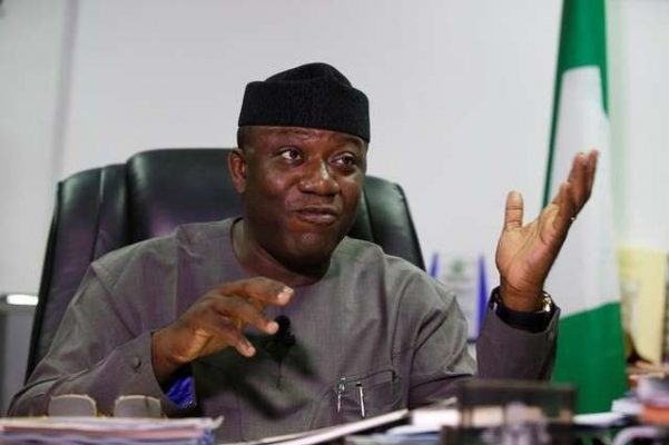Fayemi Reacts To His Suspension By Ekiti APC Committee-SurgeZirc