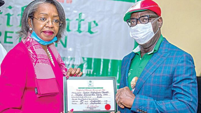 Obaseki Obtains Certificate For Securing Another Term-SurgeZirc ng