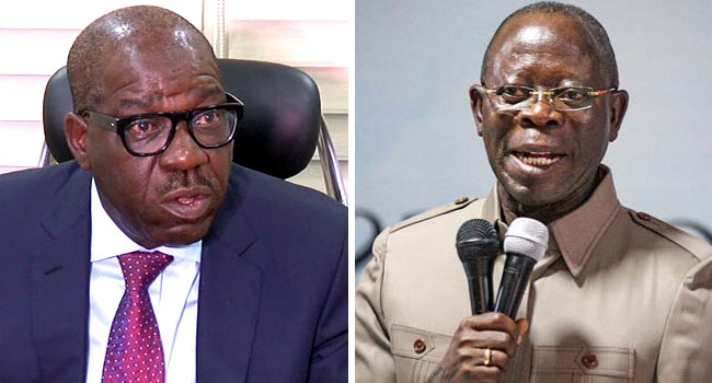 """Obaseki: """"This Election Is A Contest With Oshiomhole""""-SurgeZirc ng"""