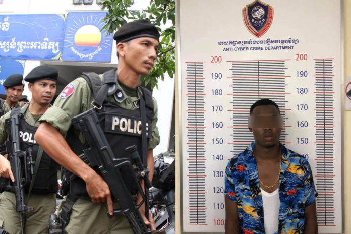 Cambodia Police Has Arrested Two Nigerians Over Internet Fraud - SurgeZirc NG