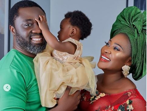 Mercy Johnson Okojie Celebrates Her Daughter Divine's First Christmas EVER With Family-SurgeZirc Ng