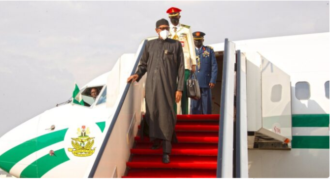 Buhari Energised As He Returns To Nigeria After 'Short Rest' In London-SurgeZirc Nigeria