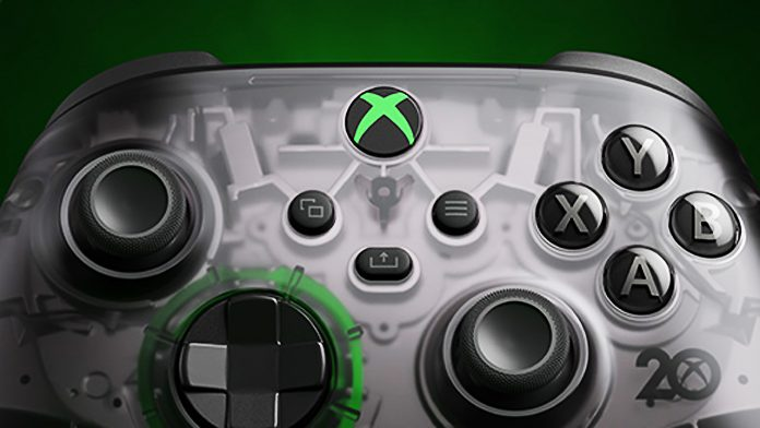 Microsoft Created A Translucent Controller For The Xbox's 20th Birthday - SurgeZirc NG